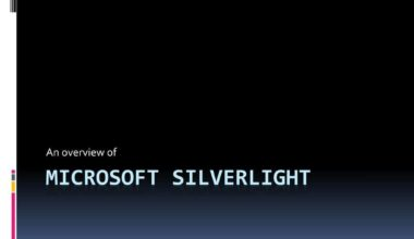 A Survey of Silverlight 3D