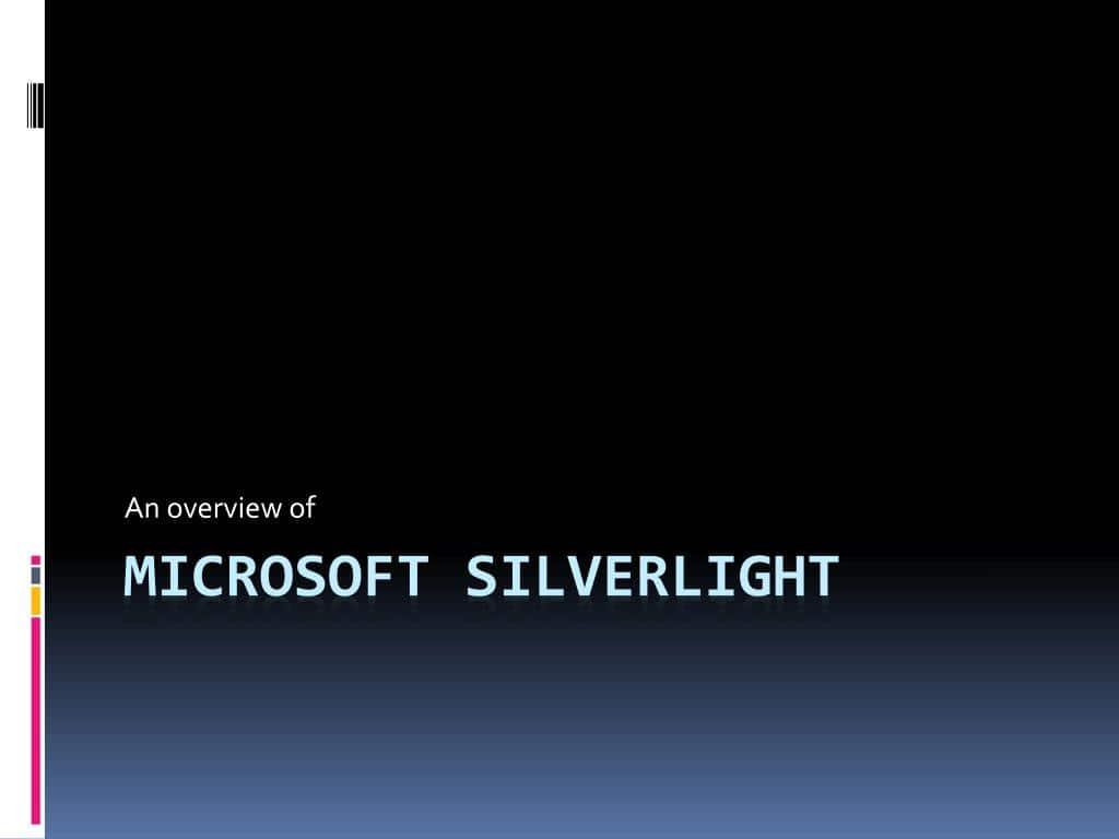 A Survey of Silverlight 3D