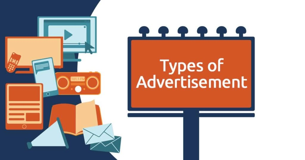 Types of advertisements