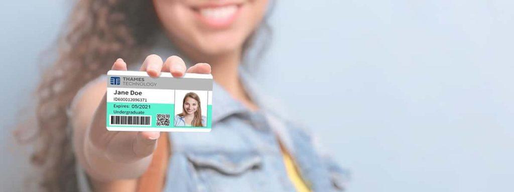 customized emergency ID card