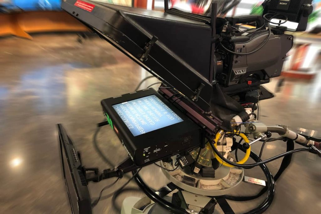 Different Components Of Teleprompter